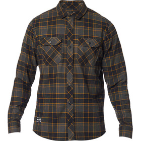 Fox Traildust 2.0 LS Flannel Shirt Men, black